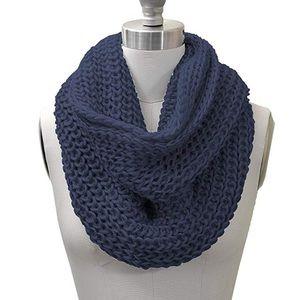 navy infinity scarf